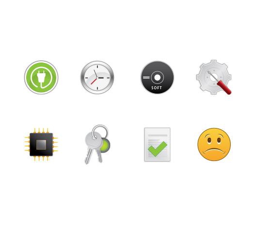 Vectorske ikone za Flipit.si