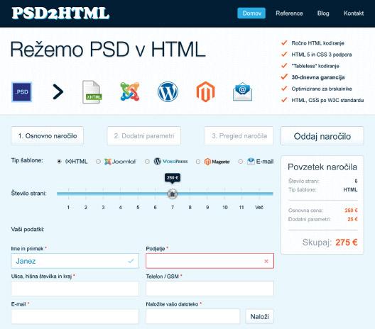 Psd2html.si