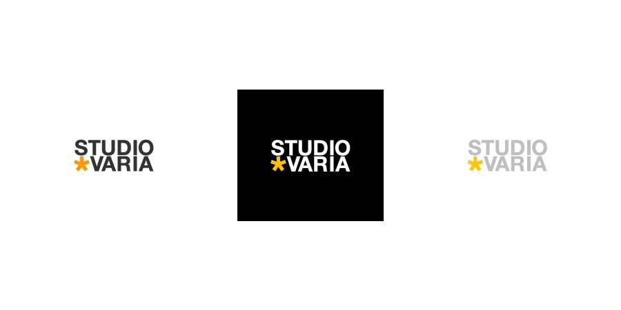 Studio Varia logo - colors