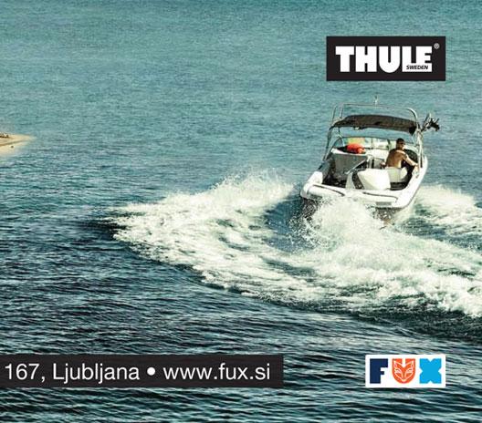 Thule / Fux d.o.o. ad for Primorske novice