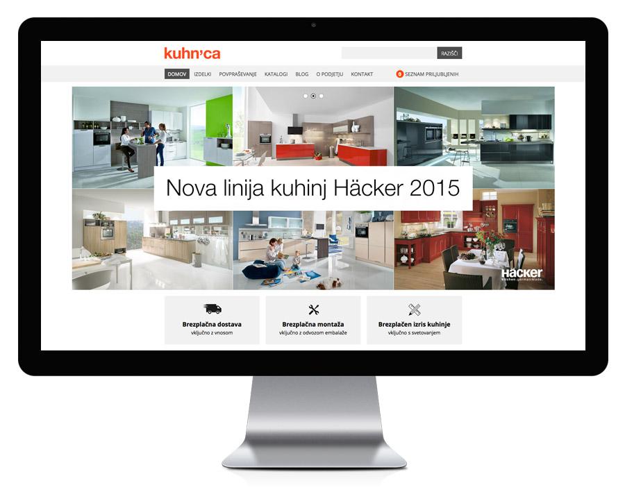 Kuhnca.si - spletni katalog