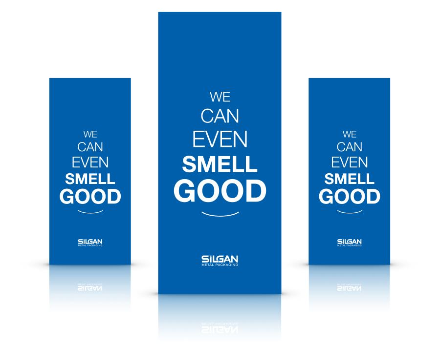 Silgan - metal packaging - slogan