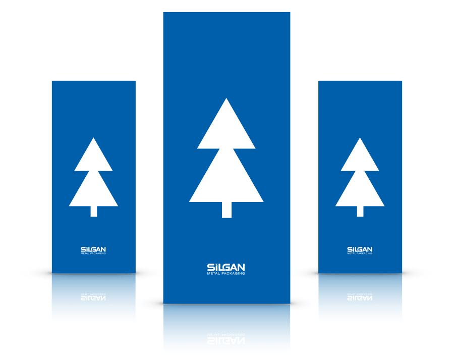 Silgan - metal packaging - christmas tree