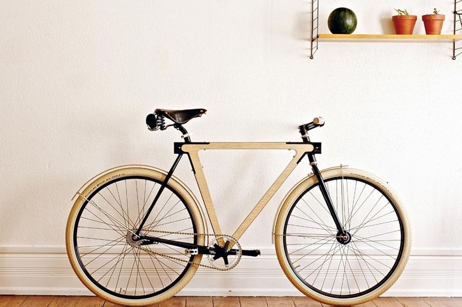 WOOD.B - A Wooden Bike