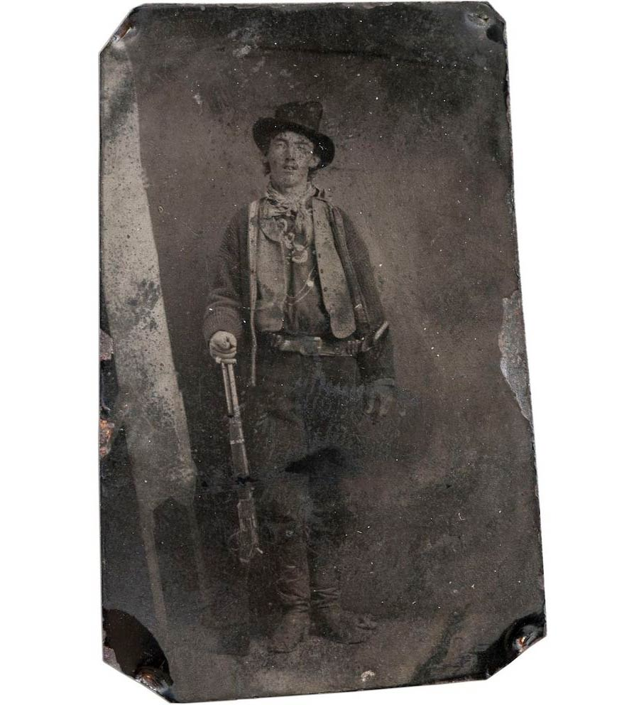 Billy the Kid – Unknown (1880) $2.3 million