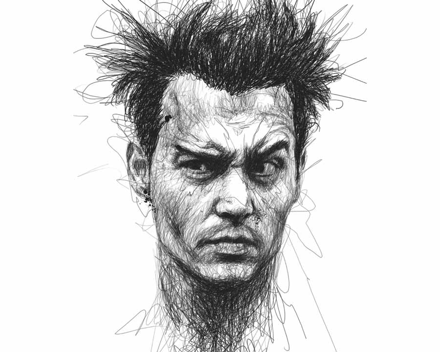 Johnny Depp by Vince Low