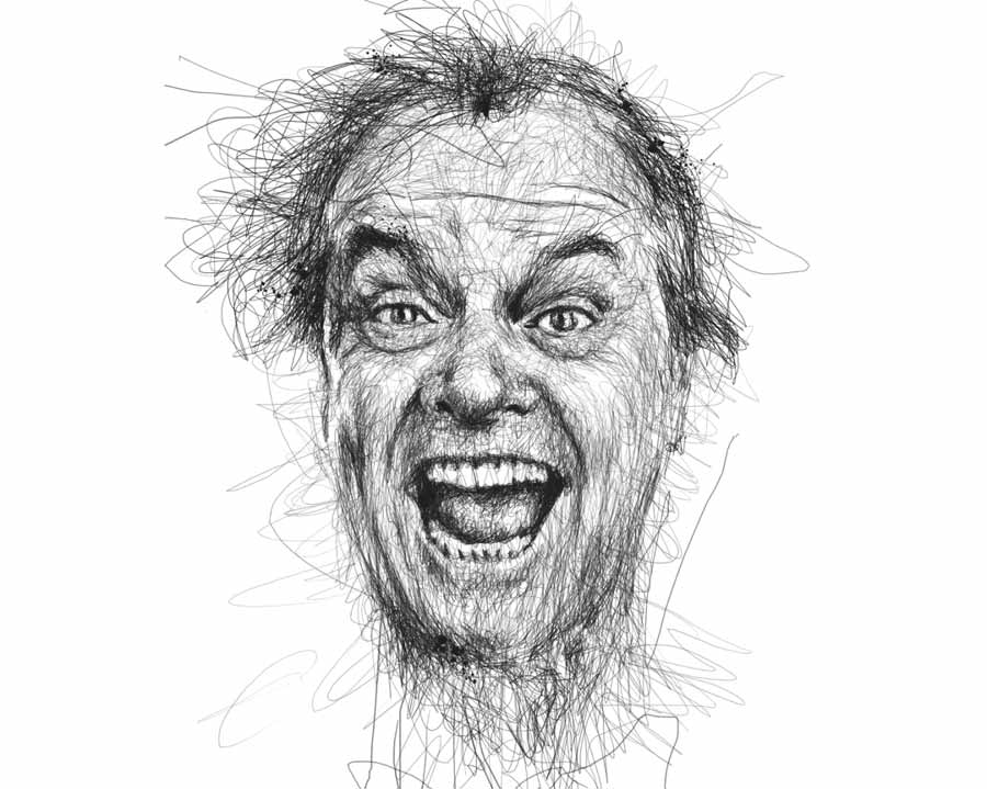 Jack Nicholson by Vince Low