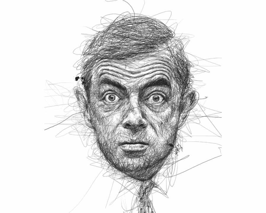 Rowan Atkinson by Vince Low