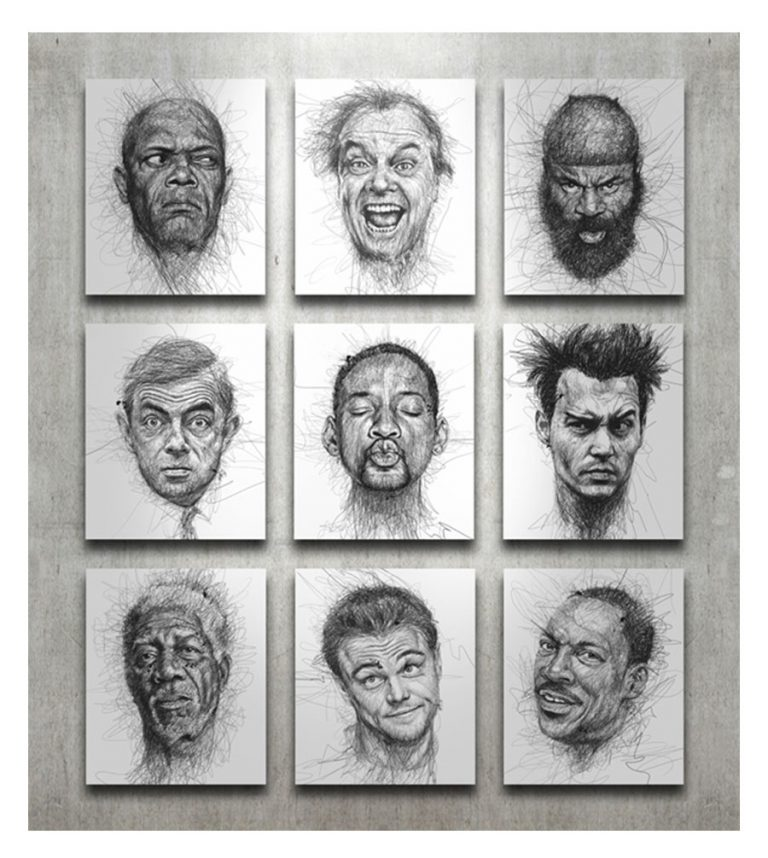 Faces by Vince Low