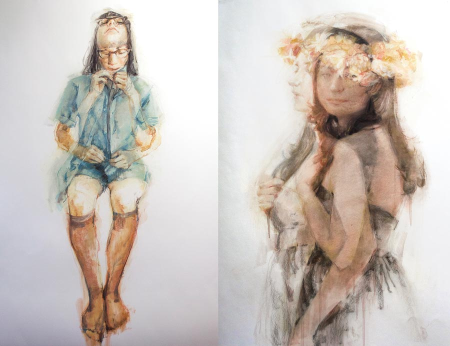 Double Exposure Drawings