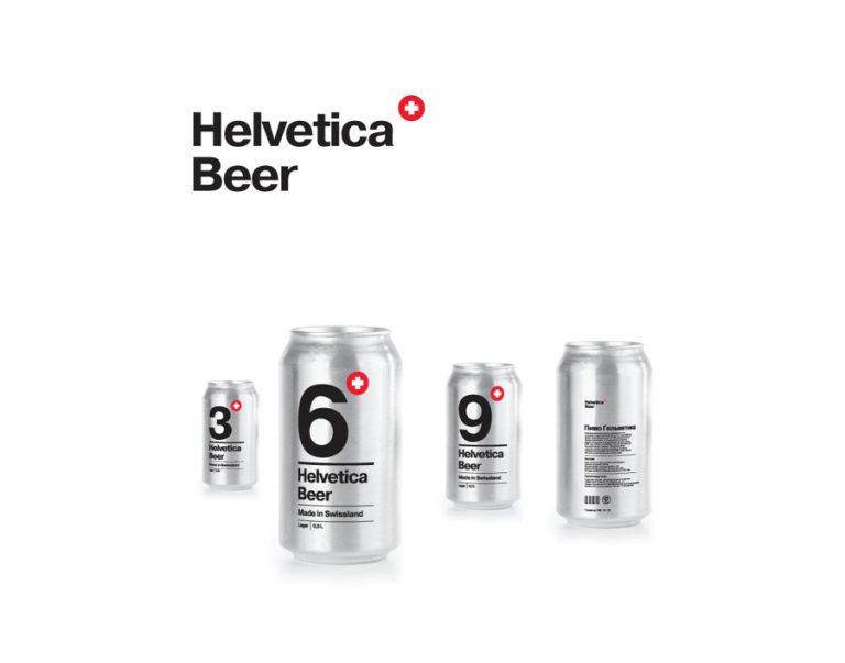 Helvetica Beer