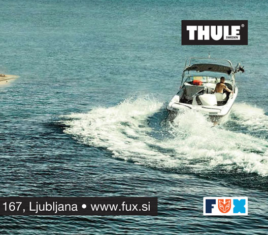 Thule / Fux d.o.o. ad for Primorske novice