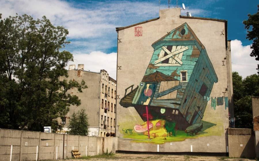 Amazing Street Art by Etam Cru