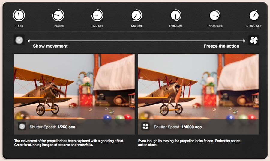 Practice your DSLR exposure skills with this great simulator Play from Canon