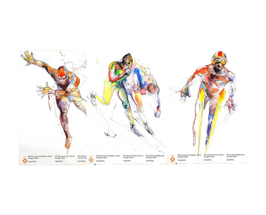 Olympic Posters from Sarajevo (1984)