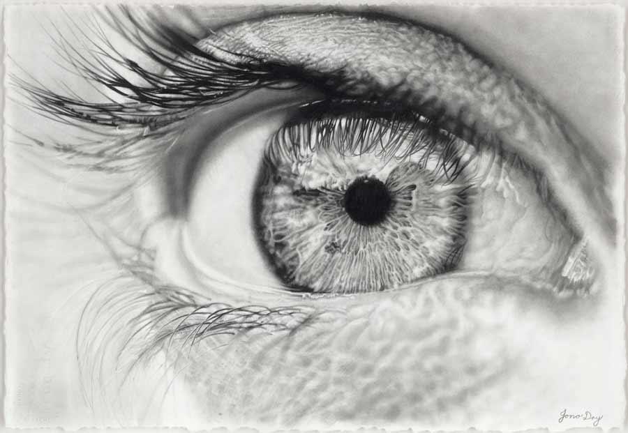 Photorealistic drawings by Jono Dry