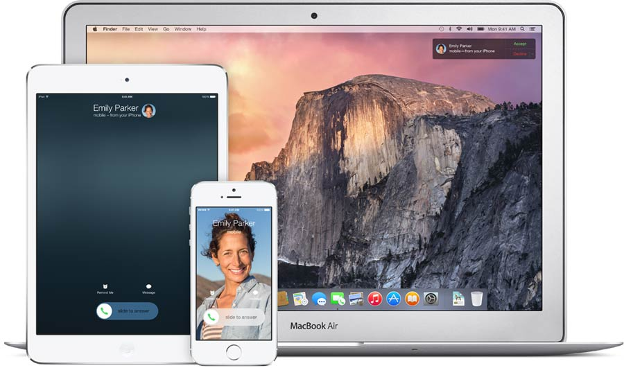 iOS 8 and OS X Yosemite Continuity