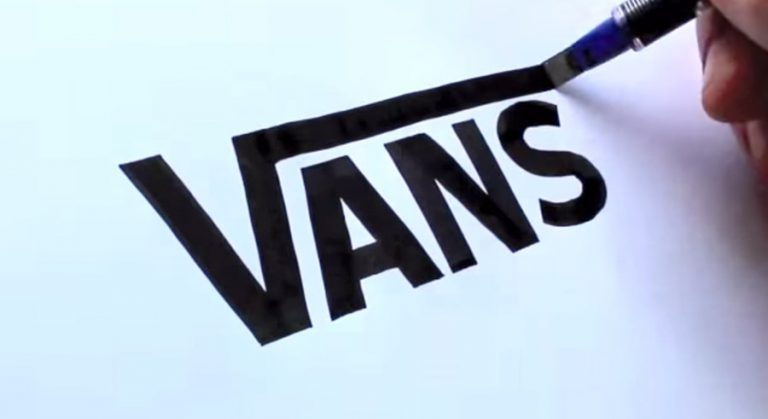 vans shoes logo handrawn by setlester