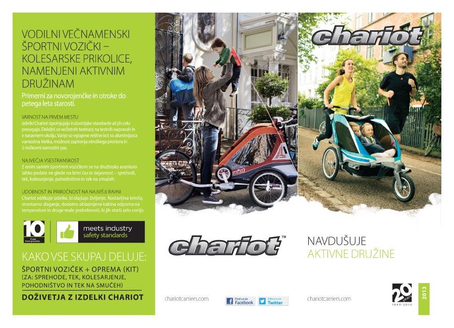 zloženka thule chariot - za aktivne družine