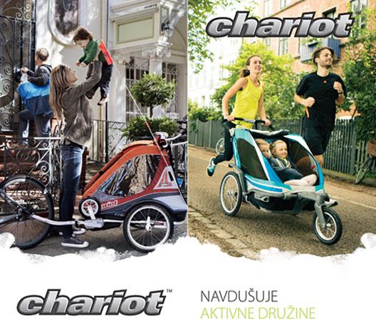 thule chariot navdušuje aktivne družine