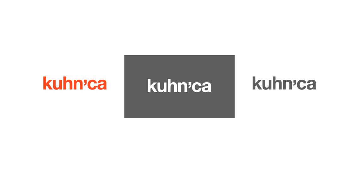 kuhnca logo - barvne variacije