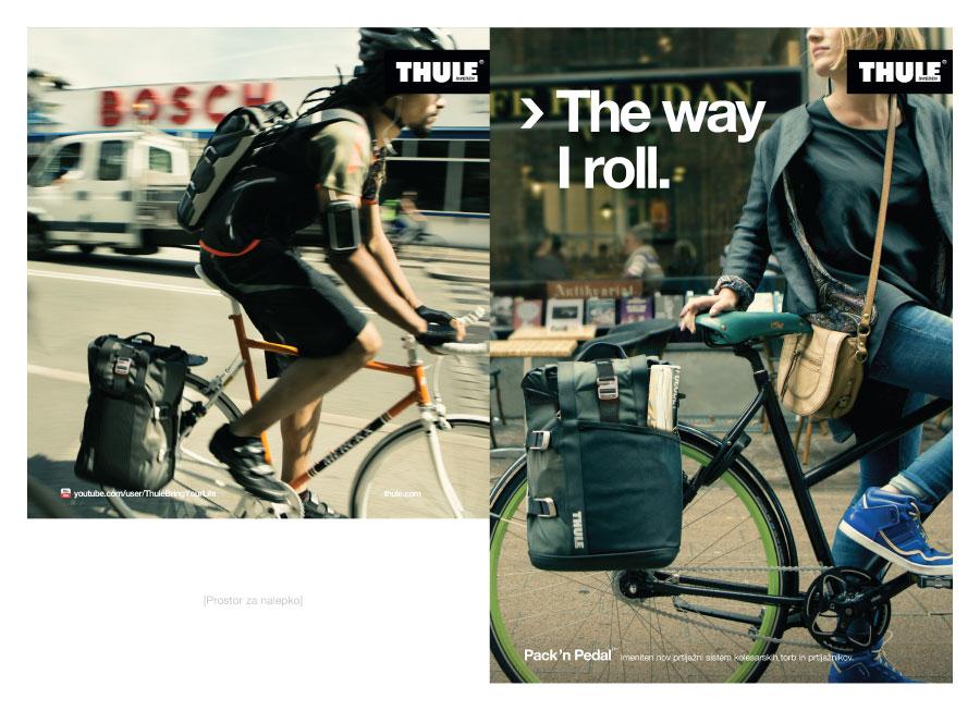 thule pack'n pedal - brošura