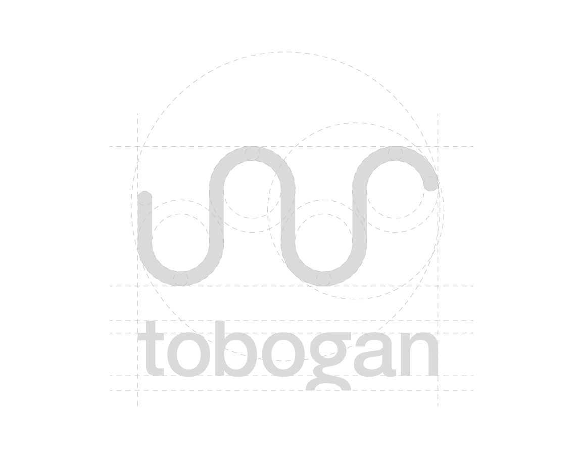 logotip tobogan - mrežna struktura