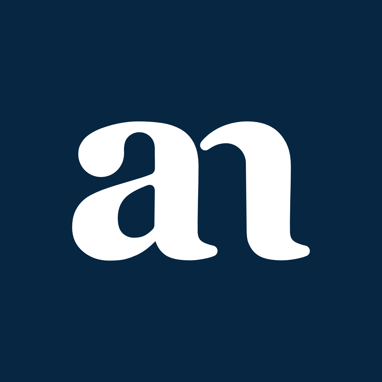 Logotip Ana Nemec - temna podlaga