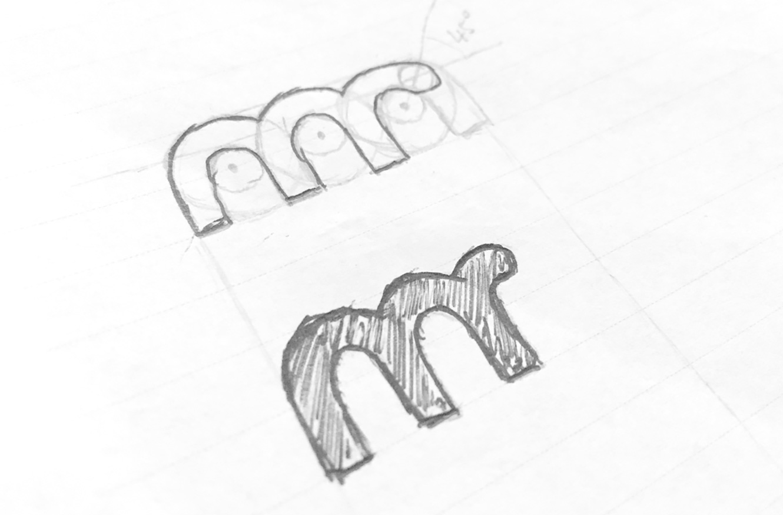 Logo moneyrebel skica