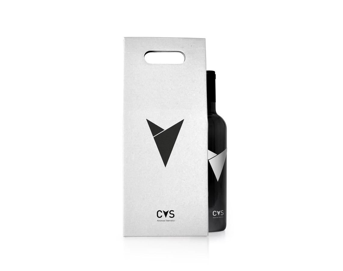 Embalaža in steklenica za vino CVS Mobile