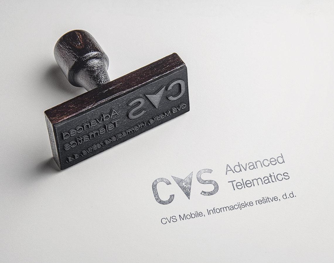 Žig podjetja CVS Mobile