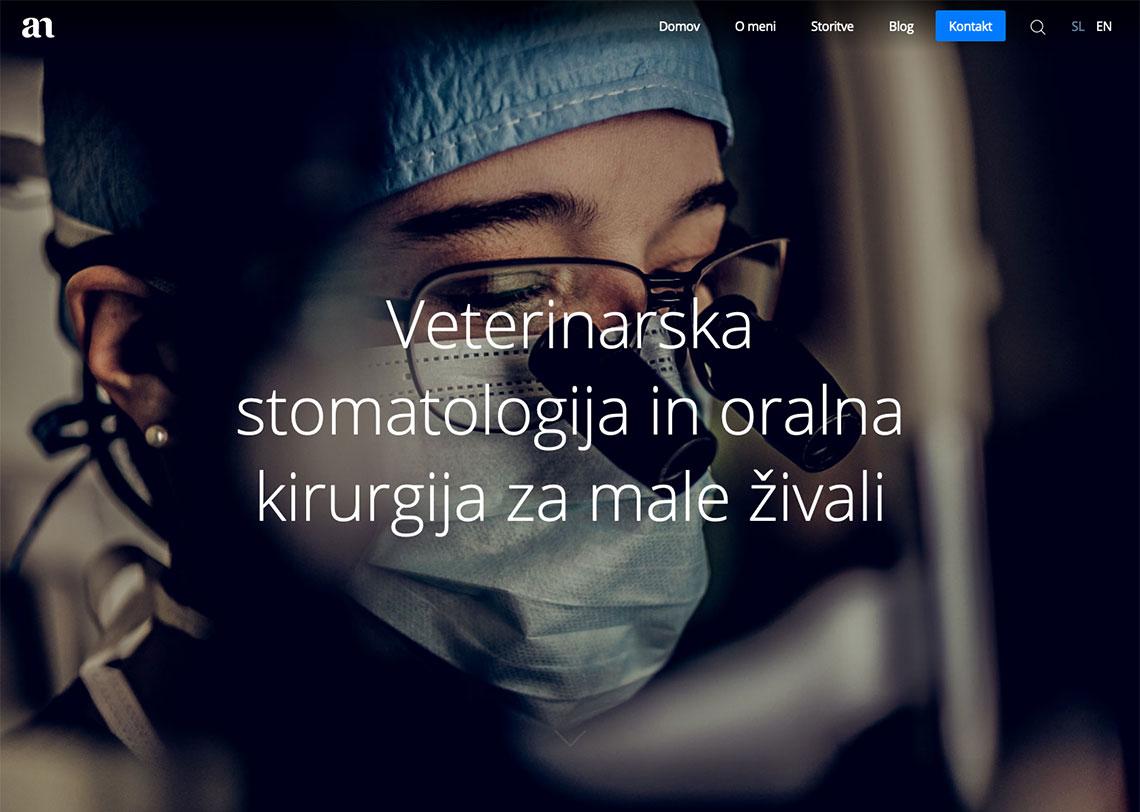 oblikovanje spletne strani ananemec.si