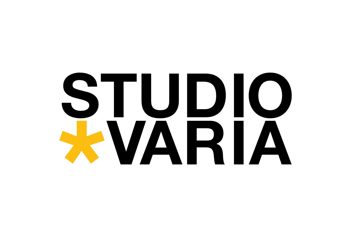 Logotip - Studio Varia - barvna variacija