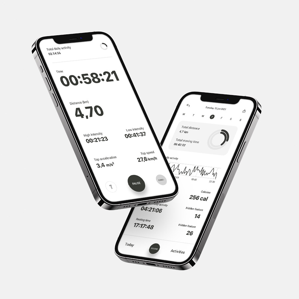 Dva nivoja mobilne aplikacije Dogami